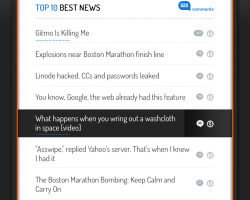 hacknews 10 best comments mobile