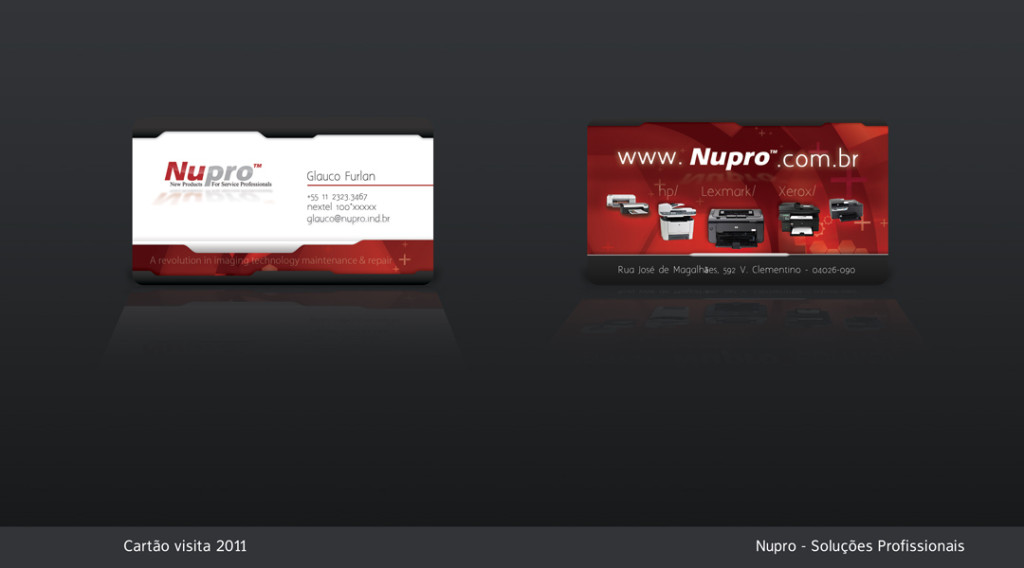 cvNupro business card